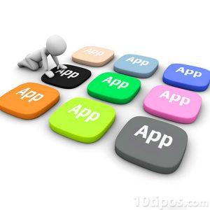 Variedad de App de diversos colores