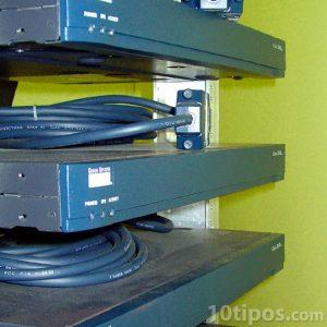 Rack instalados y en uso