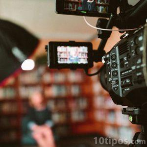 Video grabación de entrevista