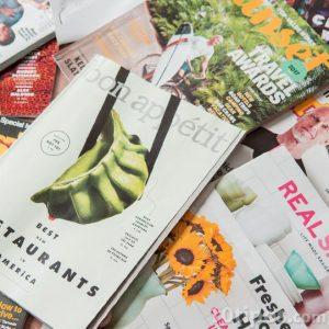 Variedad de revista de diferentes temas