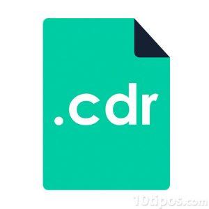 Icono de archivo de corel