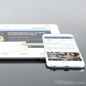 Contenido digital en diversos dispositivos móviles