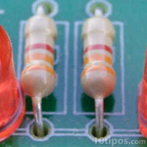 Tarjeta electrónica con chips