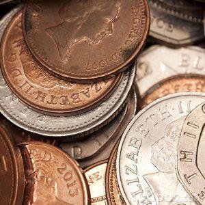 Monedas de diversas nominaciones