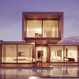 Residencia moderna de dos pisos