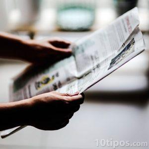 Lectura de periódico