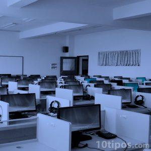 Salón de computadoras