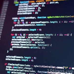 Líneas de código de programación
