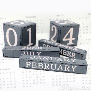 Dias de un calendario