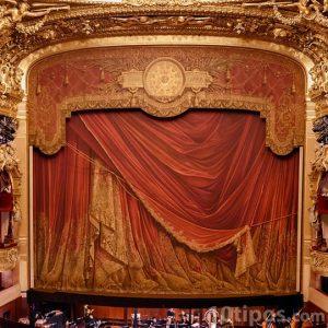 Teatro con orquesta en vivo