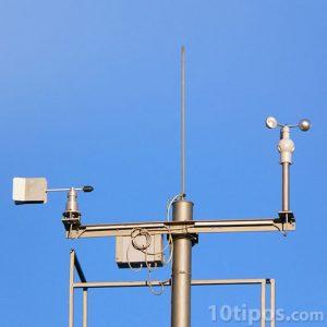 Instrumento para medir el viento