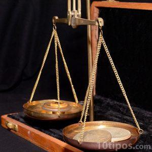 Instrumento para medir pesos iguales