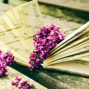 Lectura con pensamientos agradables