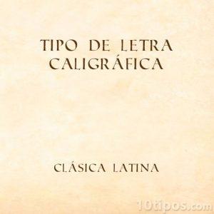 Letras latinas