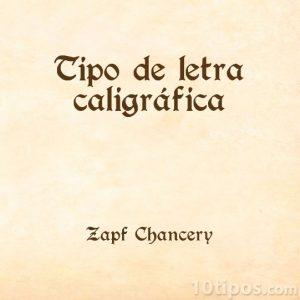 Letras tipo antiguas