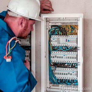 Supervisando el cableado eléctrico