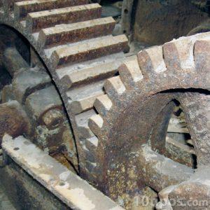 Engranes dentados de acero