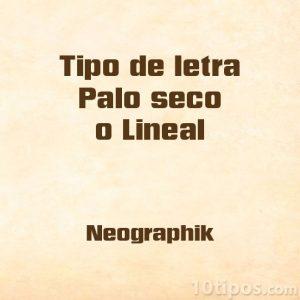Tipografia neographik