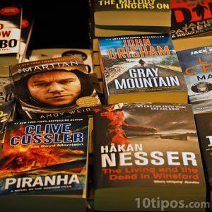 Variedad de novelas de ciencia ficción