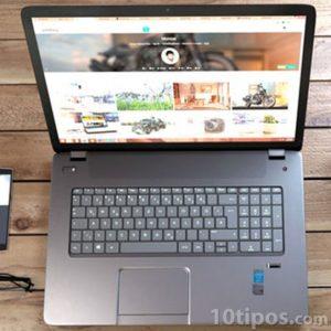 Página web sobre fotografías