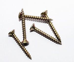 Material de construcción llamado tornillos